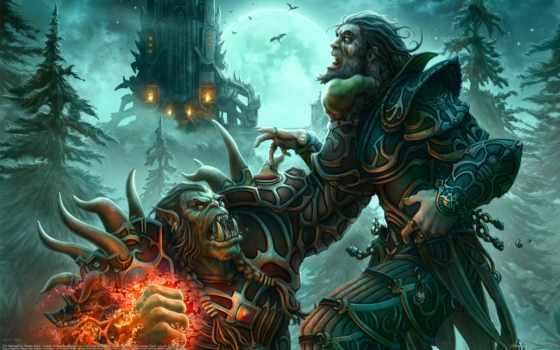 warcraft, world, orc, чернокнижник