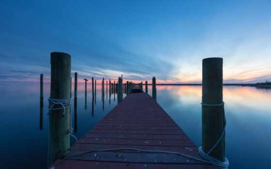 док, blue, hour, greg, molyneu, reflective, water, marine, bluewater