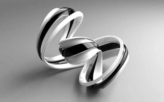 double, чёрно, белые, minus, strip, формы, mobius,