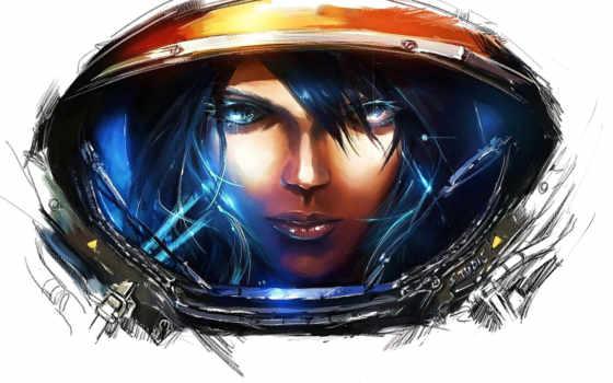 starcraft, игры, арт