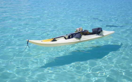 рыбы, ocean, лодка,