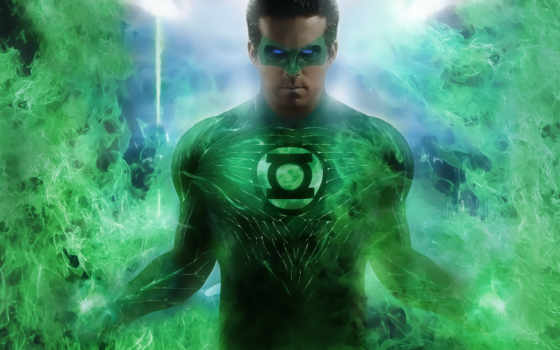 lantern, зелёный, comics