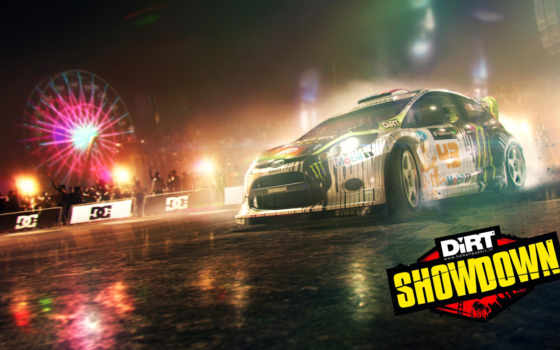 dirt, showdown, серий, игры,