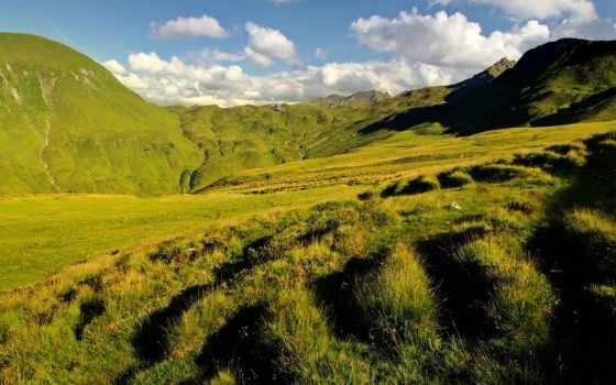 verdes, pantalla, fondos, praderas, campo, verde, paisajes, pictures, pin,