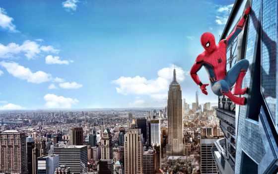 мужчина, паук, homecoming, return, домой,