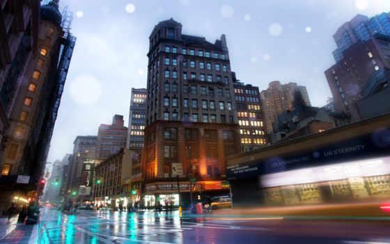 neighborhood, york, нью, улица, улицы, broadway, buildings, new,