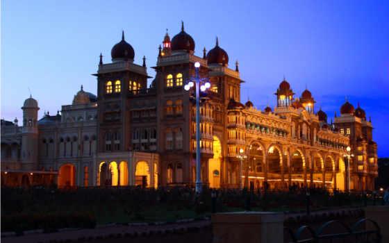дворец, mysore, india, karnataka, abyss, state, тур, this,