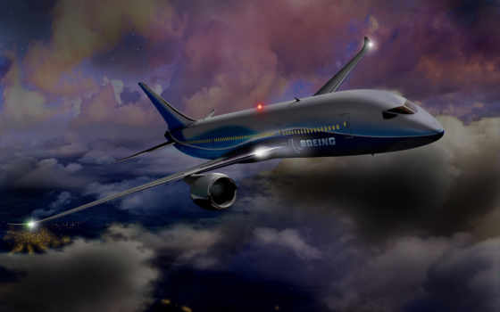 пикс, boeing, самолёт