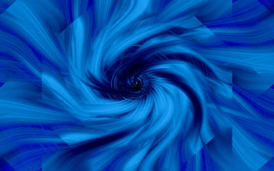 blue, фон, spiral, девушка, abstract
