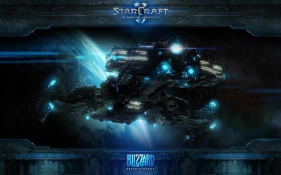starcraft, крейсер Фон № 13550 разрешение 1920x1200