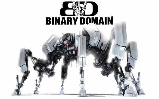 binary, domain, logo, создается, игры, система,