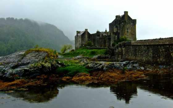 шотландия, замок, эйлен
