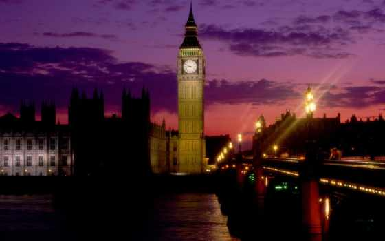 биг, бен, london