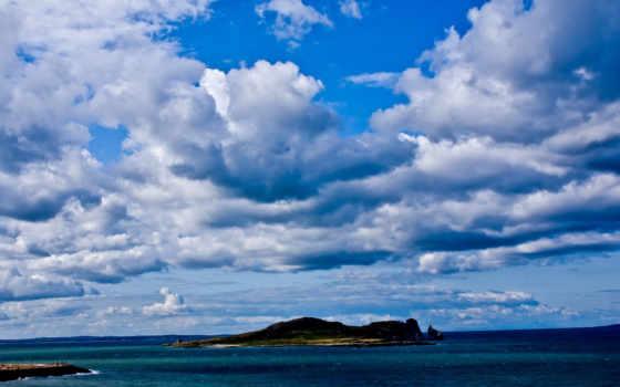 море, ocean, облако