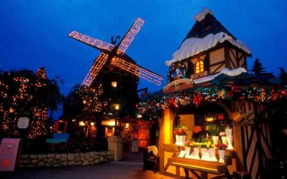 christmas, disneyland