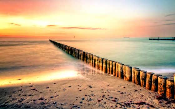 morze, tapeta, pulpit, piękne, plaże, krajobrazy, tapety, брёвна, pin,