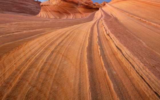 волна, аризонская, erosão, границе, arizona, штатами, между, utah, you, можно,