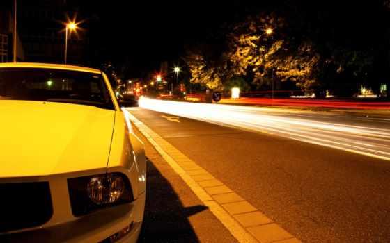 ford, mustang, машины, lamborghini, ночь, просмотров, рейтинг, тачка, машина, car,