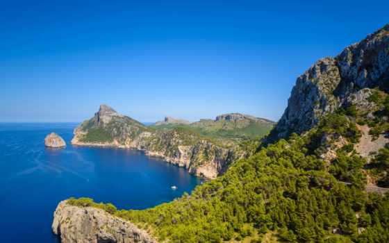 mallorca, испания, postcard, шапка, formentor, большой, zazzle, customizable, great,