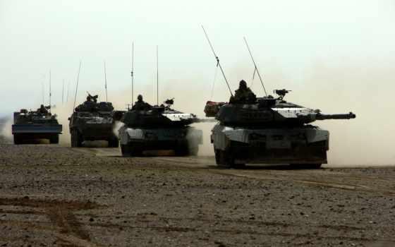 танк, конвой
