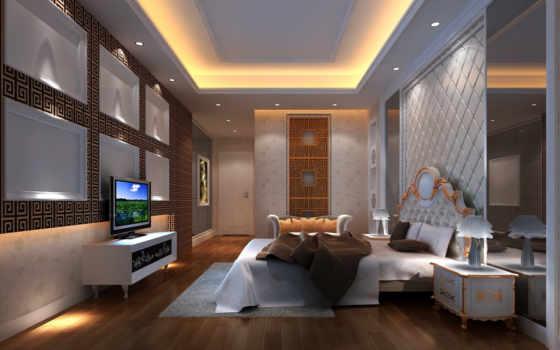 спальня, интерьер, design