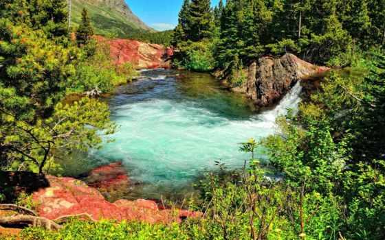 водопад, ultra, пруд, landscape, pin, информация,