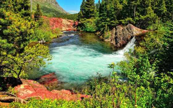 водопад, ultra, пруд Фон № 134485 разрешение 1920x1200