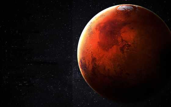 космос, planets, марс, красный,