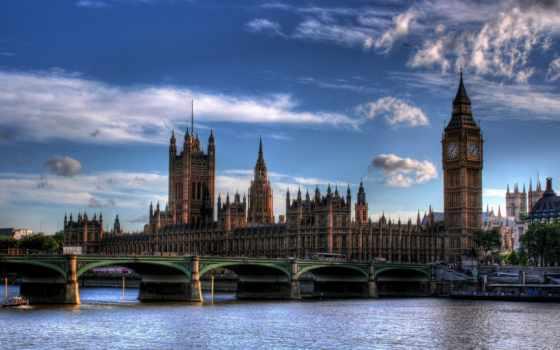 великобритании, парламент, английского
