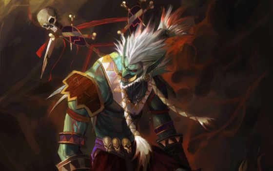шаман, warcraft, world, troll, wow,