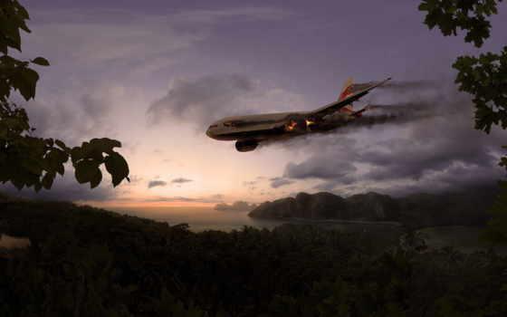 самолёт, авиакатастрофа, jungle, самолеты,