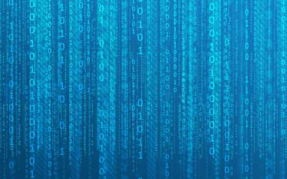 binary, матрица, голубой, цифры