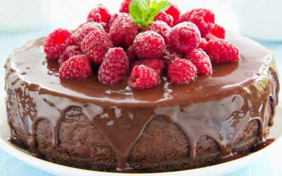 торт, chocolate, малина, малиной, торта, slice, рецепты, cooking,