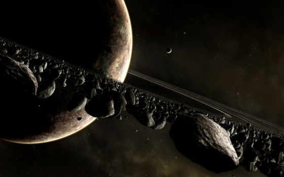 planet, сатурн, ринг, cosmos, астероидов, full,