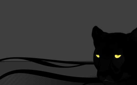 panther, серый