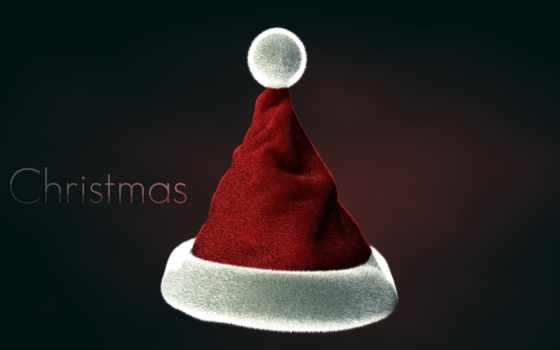 santa, hat