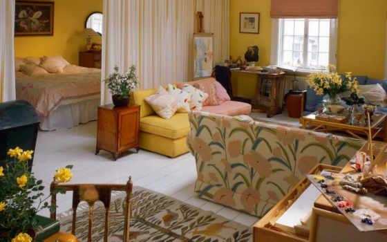 интерьера, квартиры, квартире, interer, маленькой, однокомнатной, dizain,