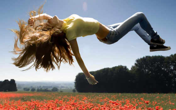 весна, march, девушка, небо, дорогие, улыбка,