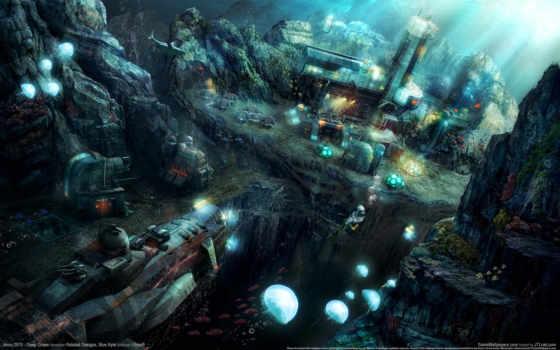 anno, underwater, world
