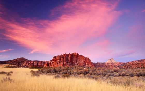 пустыня, мохаве, plateau, park, colorado, пустыни, стыке, горы, большого, бассейна, географии,