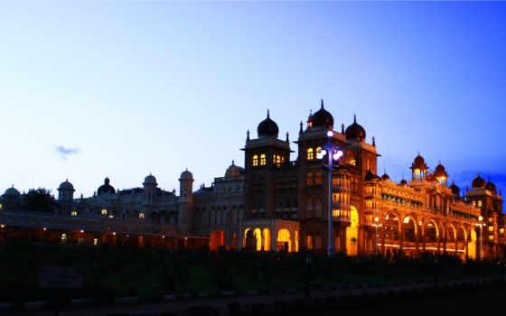 дворец, mysore, india Фон № 142207 разрешение 5173x2910
