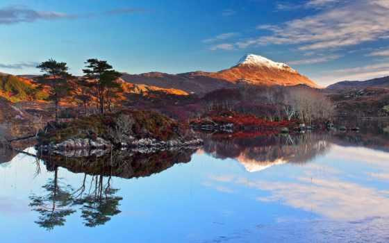шотландия, desktop, best, fondos, images, озеро, гора,
