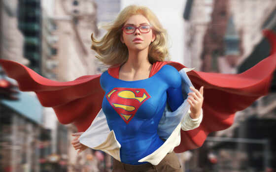 supergirl, artwork, ready, mobile, супергерой, фото, фон, rate, взгляд, smartphone