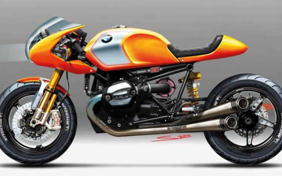 bmw, ninety, мотоцикл