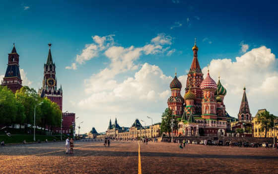 cathedral, red, москва, basil, санкт, square, блаженного, василия, россии,