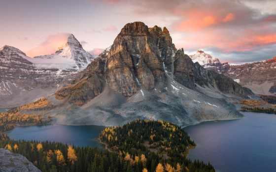 assiniboine, mount, park, канада, provincial, озеро, картинка, евгений, columbia,