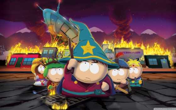 park, south, рисунок, cartman
