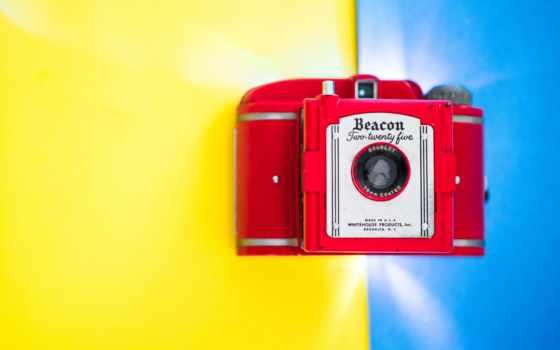 маяк, фотоаппарат, digital, blue, гладь, yellow, серый