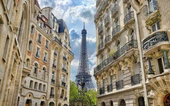 париж, франция, башня Фон № 79210 разрешение 1920x1200