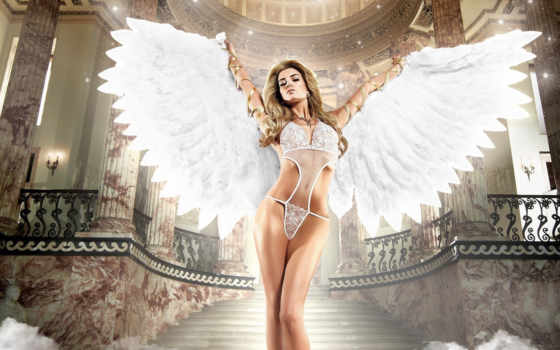 девушка, angel, sexy
